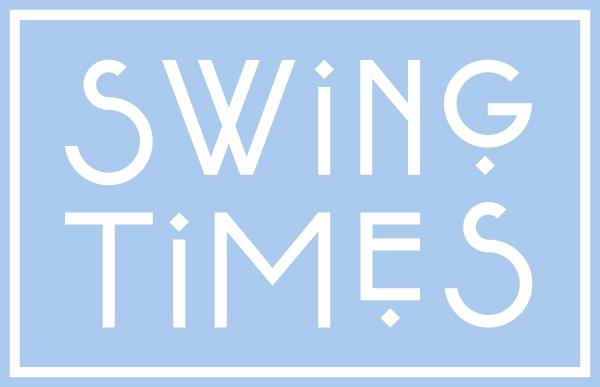 Swing Times Logo hellblau